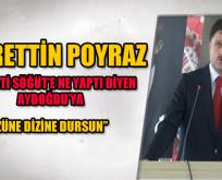 Ak Parti İl Danışma Toplantısında Konuşan Poyraz;