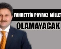 2015'te Fahrettin POYRAZ Milletvekili Olamayacak mı?