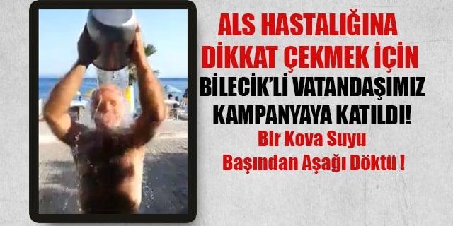 ALS HASTALIĞINA BİLECİK'TE DİKKAT ÇEKTİ !