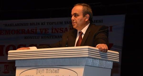 """BİLECİK'TE """"DEMOKRASİ VE İNSAN HAKLARI"""" KONULU KONFERANS"""