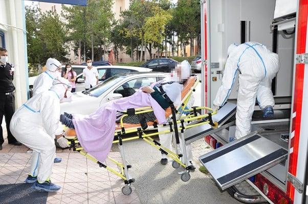 Mers Virüsü Şüphelileri Eskişehire Sevk Edildi.