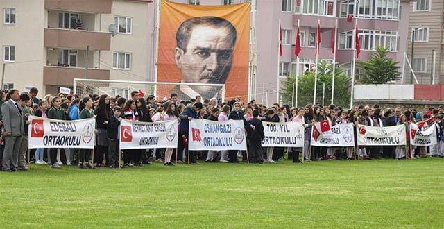 Cumhuriyet Bayramı Bilecik'te coşkuyla kutlandı.