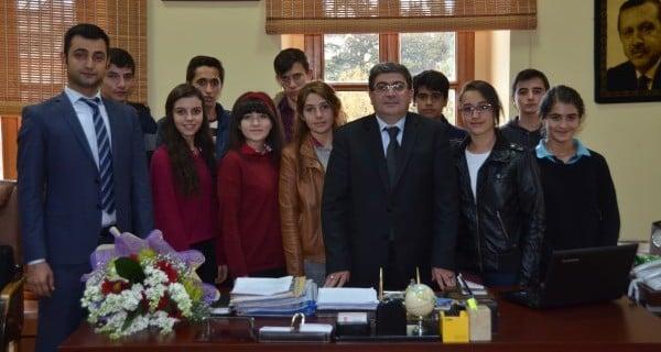 Çocuk Hakları Komitesi'nden Başkan Vekili Nihat Can'a ziyaret