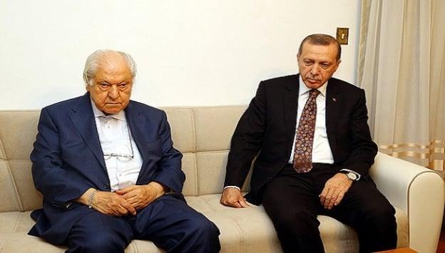 Cumhurbaşkanı Erdoğan, Nuri Pakdil'i ziyaret etti