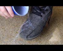 Karda ayakkabılarınızın su almasını istemiyorsanız..