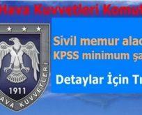 Türk Hava Kuvvetleri Sivil Memur Alımı Başvurusu