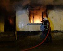 Bilecik Hakalmaz Sokakta çıkan yangında can pazarı