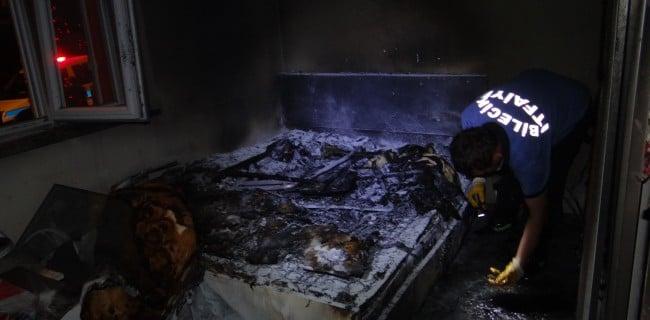 Bilecik Ertuğrulgazi Mahallesinde yangın