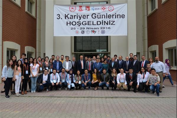 """SELİM YAĞCI, """"3. KARİYER GÜNLERİ'NE KONUŞMACI OLARAK KATILDI"""