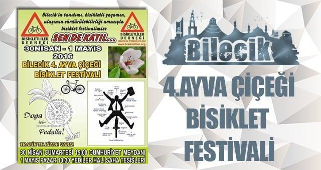 Bilecik 4.Ayva Çiçeği Bisiklet Festivali
