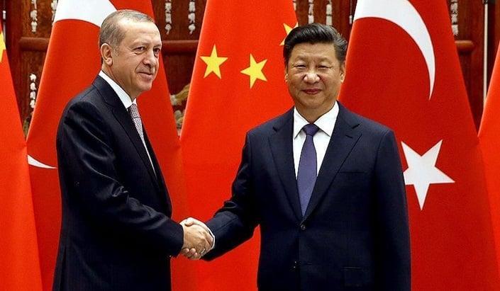 Cumhurbaşkanı Erdoğan, Xi Jinping ile görüştü