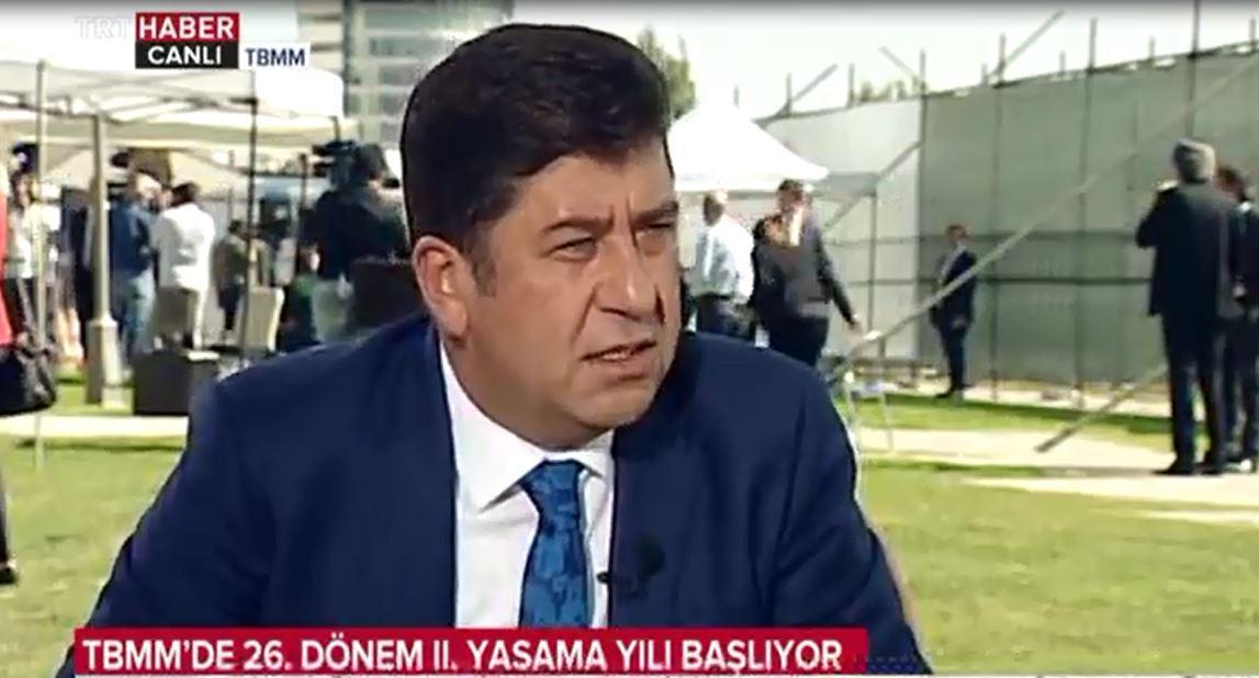 Bilecik Milletvekili Yaşar Tüzün TRT HABER canlı yayın