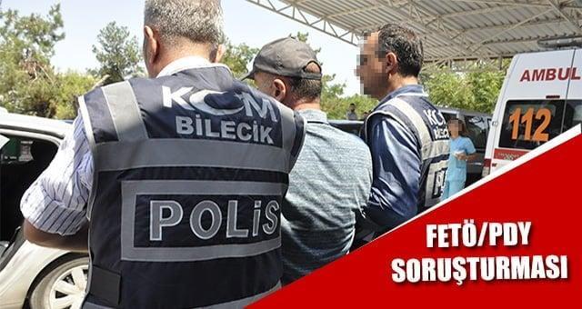 Bilecik FETÖ/PDY Soruşturması: 5 şüpheli gözaltına alındı