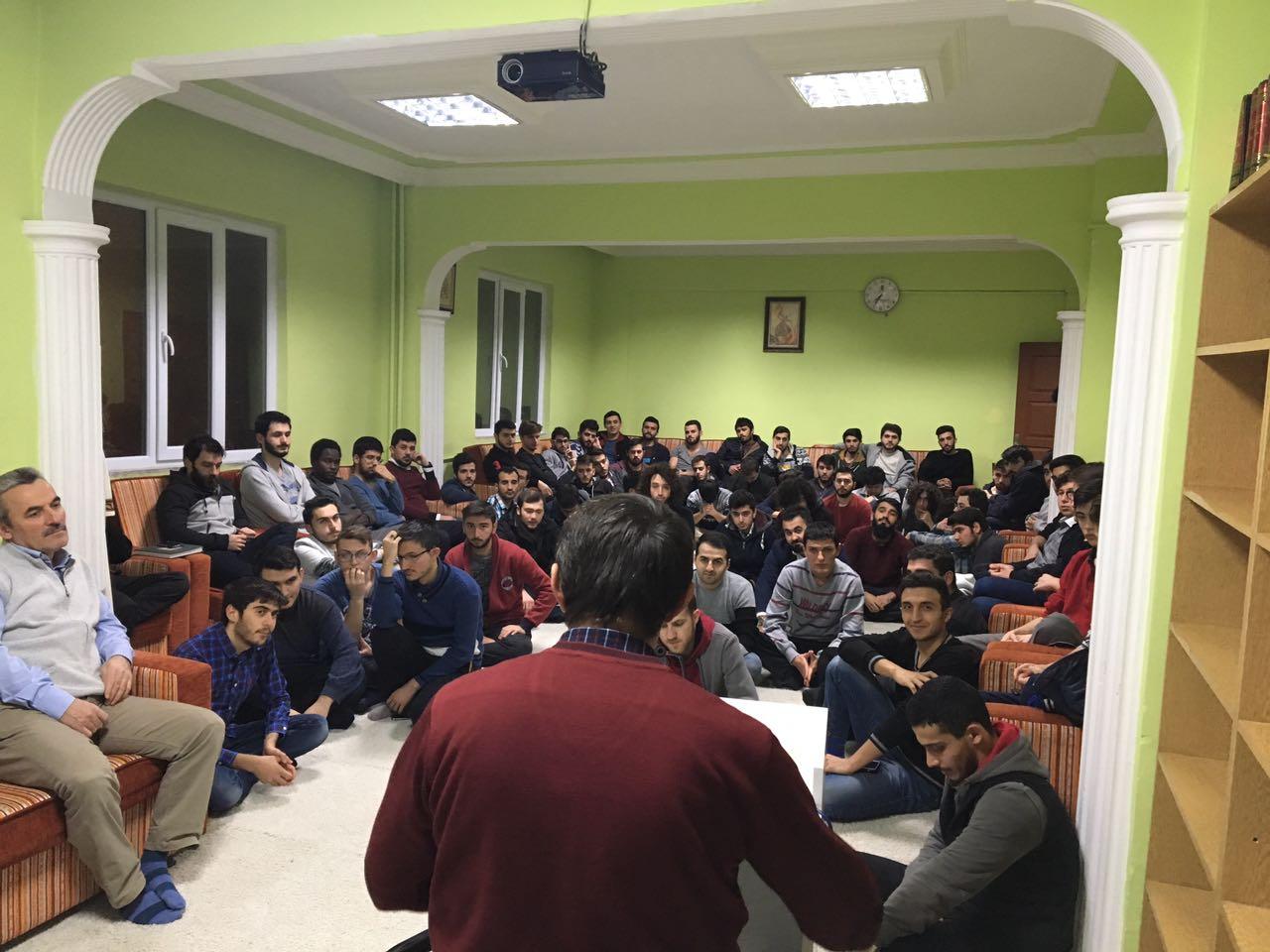 İlim Yayma Cemiyetinde dava şuuru ve gençlik konferansı