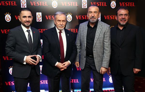 Galatasaray'ın Efsane Aslanlarına Vestel Desteği