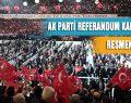 AK Parti Referandum Kampanyası Tanıtım Toplantısı Yapıldı