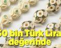 150 bin Türk Lirası değerinde