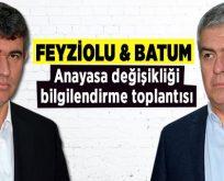 Metin Feyzioğlu ve Süheyl Batum Bilecik'teydi
