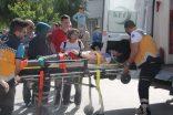 Bilecik'te trafik kazası 3 yaralı