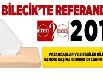 Bilecik'te referandum 2017