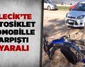 Bilecik'te motosiklet otomobille çarpıştı 1 yaralı