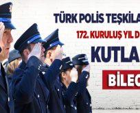 Bilecik'te Türk Polis Teşkilatının 172. Yıl dönümü