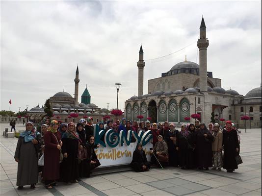 Osmaneli Belediyesi kültür turlarına Konya ile başladı