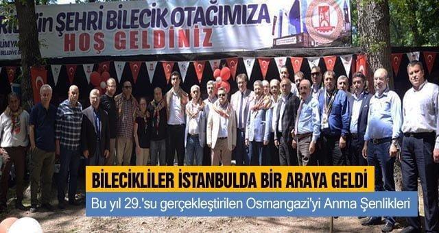 Bilecikliler İstanbul'da  bir araya geldi