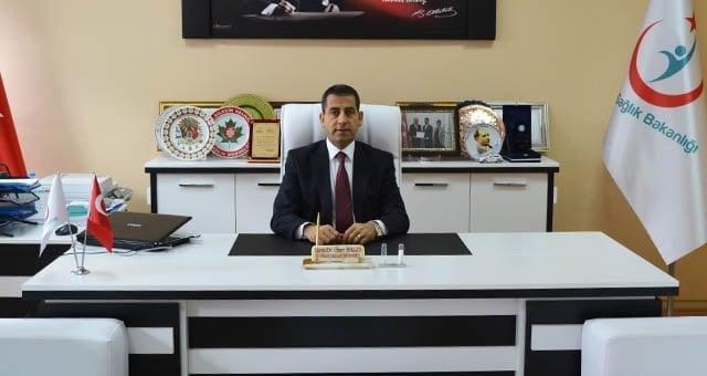 Bilecik Halk Sağlığı Müdürü Ömer Balcı Ağrı'ya atandı