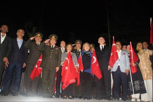 """""""15 Temmuz Demokrasi ve Milli Birlik Günü"""" etkinlikleri"""