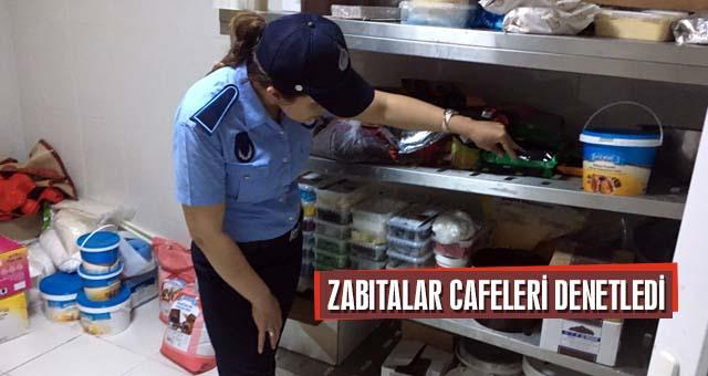ZABITA MÜDÜRLÜĞÜNDEN CAFE DENETİMİ