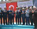 Bakan Tüfenkci ile TOBB Başkanı Hisarcıklıoğlu temel atma törenine katıldı