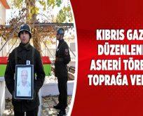 Bilecik'te Kıbrıs gazisi düzenlenen askeri törenle toprağa verildi