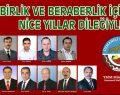 Osmaneli Belediye Başkanı Münür Şahin'in Yeni Yıl Mesajı