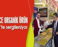 BİNLERCE ORGANİK ÜRÜN BİLECİK'TE SERGİLENİYOR