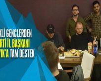 AK Parti İl Başkanı Karabıyık'a Bilecikli Gençlerden Tam Destek
