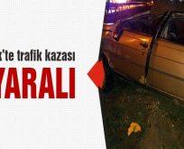 Bilecik'te trafik kazası 2 yaralı