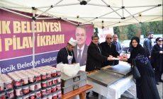 Bilecik Belediyesinden Şifalı Pilav İkramı