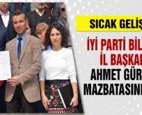 İYİ Parti Bilecik İl Başkanı Ahmet Gürses mazbatasını aldı