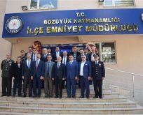 BOZÜYÜK'TE 10 NİSAN POLİS HAFTASI ETKİNLİKLERİ