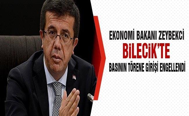 Ekonomi Bakanı Zeybekci, Bilecik'te