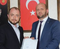 AK Parti Bilecik Milletvekili Aday Adayı Hüsnü Ersoy başvurusunu yaptı
