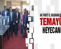 AK Parti Bilecik İl Başkanlığı'nda temayül heyecanı
