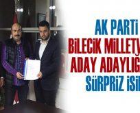 AK Parti'nin Bilecik'ten 2. Milletvekili Aday Adayı