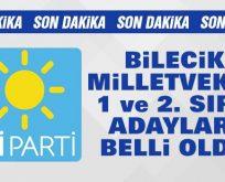 İYİ Parti Bilecik Milletvekili Adayları Açıklandı