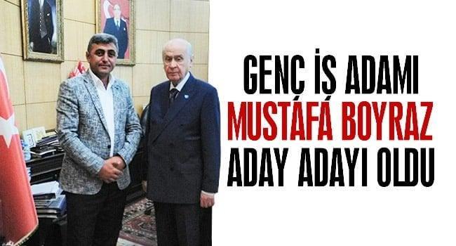 MHP Bilecik Milletvekili Aday Adayı Mustafa Boyraz