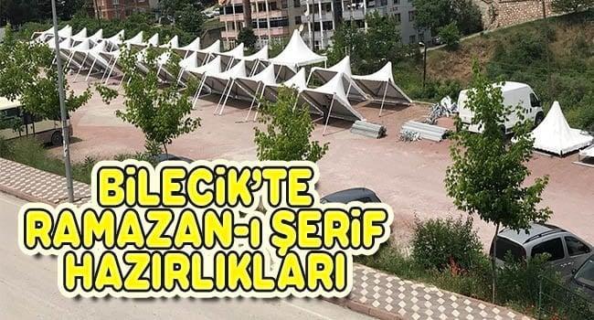 Bilecik'te Ramazan-ı Şerif Hazırlıkları