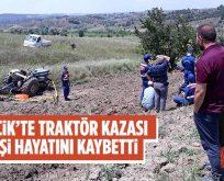 Bilecik'te traktör kazasında 1 kişi hayatını kaybetti