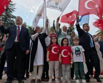 AK Partililer Bilecik Mitinginde Bir Araya Geldi