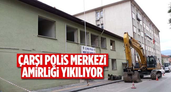 Bilecik Eski Çarşı Polis Merkezi Amirliği Yıkılıyor